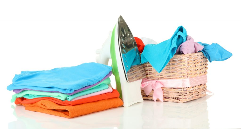 wash dry and fold laundry